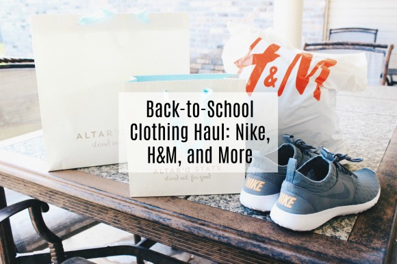 Back-to-School Clothing Haul